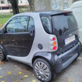 Smart City coupe automatic, reg. 01/2020.