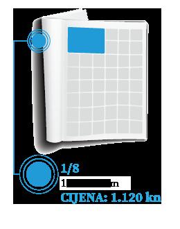 Oglasite se u novinama - Oglasnik tisak 1/8 - 123 x 93 mm